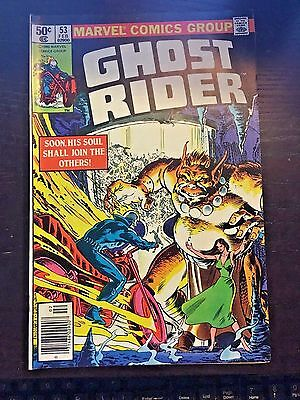 Ghost Rider (1973 1st Series) #53 8.5 VF+ Very Fine+ Marvel Comics Newsstand
