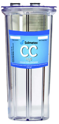 SOLMETEX Hg5 Collection Container with Recycle Kit Amalgam Separator Filter