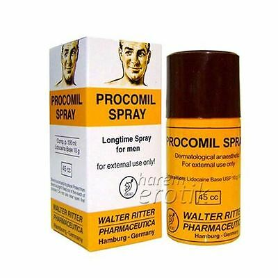 PROCOMIL MEN Verzögerung Spray 45CC 100% ORIGINAL