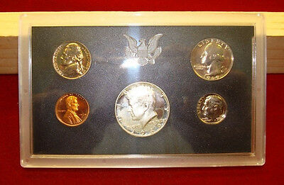 United States Mint Proof Coin Set - (1969 S) / 1c - 50c - Currency