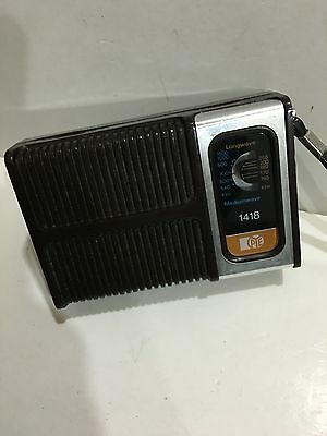 VIntage Pocket RADIO MODEL  PYE AM(MW)- LW TWO BAND From The 1960s-1970s
