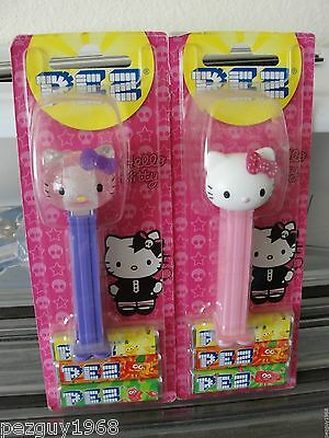 Pez Hello Kitty Crystal Lot, Mint on Card