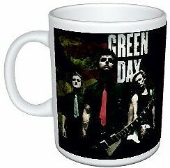 Green Day Band Colour Mug