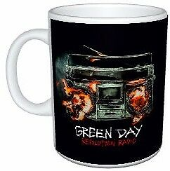 Green Day Revolution Radio Colour Mug