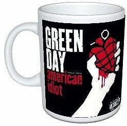 Green Day American Idiot Colour Mug