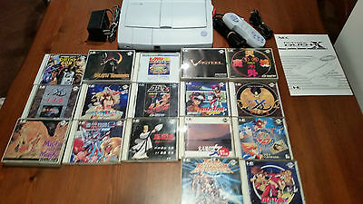 Pc Engine Duo Rx Console Nec + 17 Games