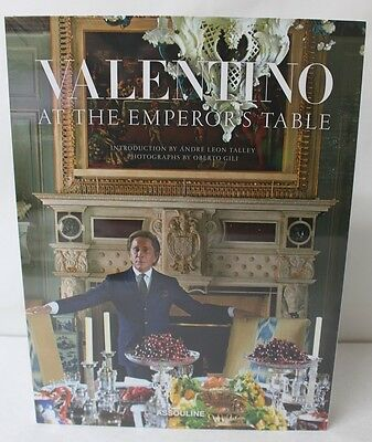 Valentino : At the Emperor's Table (2014, Hardcover) Assouline NEW FREE SHIPPING
