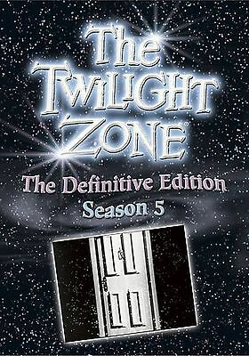 Twilight Zone The Complete Season 5 Five 5th Fifth 6-DVD Set! Definitive Edition