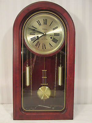 Vintage Waltham Wall Clock 9-107 Parts Or Repair 31 Day