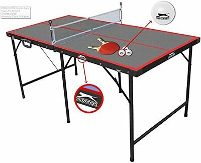 Slazenger Children''s 5ft Indoor Folding Table Tennis Table