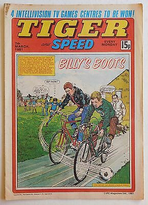 TIGER & SPEED Comic - 7th March 1981