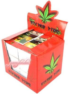 Roach Tips 100 Booklets {Full Box} Bargain 5000X Filter Tips Smoking Roach