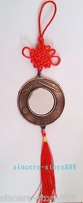 Feng Shui Round Baguas Pa kua Mirrors Car or Door Pendant for Health Protection