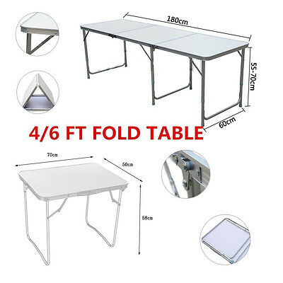 4FT/6FT best selling OUTDOOR FOLDABLE PORTABLE CAMPING FOLDING TABLE