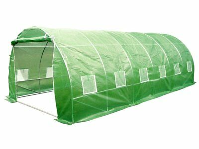 Evergreen Tunnel House Greenhouse 3m x 6m Tunnel Houses Polytunnel Poly Hoop NEW