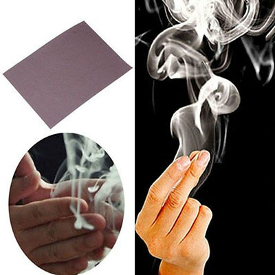 Magic Finger Smoke Hell's Smoke Trick for Magician Close-Up Performace Props