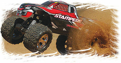 Traxxas 1/10 Stampede Xl5 48+Kph Rtr Rc Monster Truck Trax360541