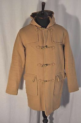 Lambretta beige duffle coat size medium mod casual indie rock