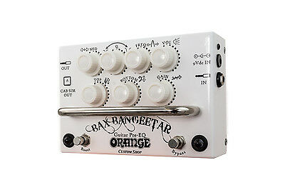 Orange Bax Bangeetar White RETOURE - Custom Shop Preamp-Pedal