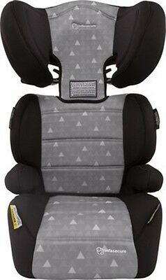 NEW Infasecure Baby Booster Car Seat Vario Treo Grey #`CS5413TO.GREY