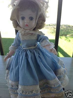 """Madame Alexander 12"""" Lissy Southern Belle 1963 Lissy Southern Belle #1255 RARE"""