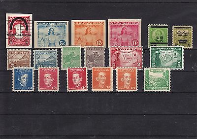 Philippines Japan Occupation stamps - Mostly mint