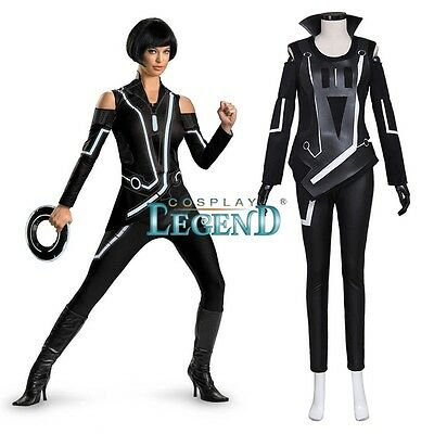 Quorra Tron Legacy Movie Jumpsuit Costume Custom Made Fancy Dress Up
