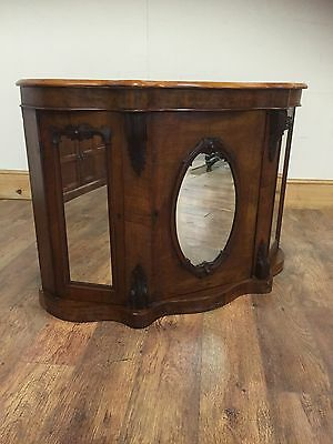 Victorian side cabinet credenza Needs Attention