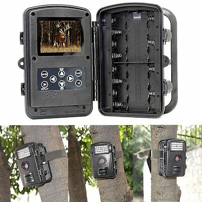 RD1003 Stealth Phototrap Trail Camera DVR for Wild Animals IR View Day & Night