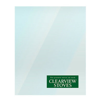 Replacement Stove Glass For Clearview Stoves Heat Resistant - Various Models