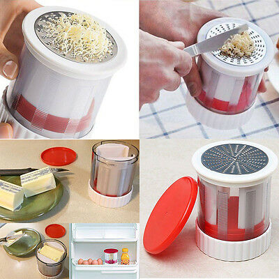Fromage Râpe Beurre Moulin Trancheuse Rotary Coupe Grater Cuisine Ustensile