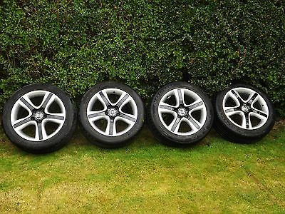 """**4 Genuine Vw T5 18"""" Alloy Wheels With Tyres**"""