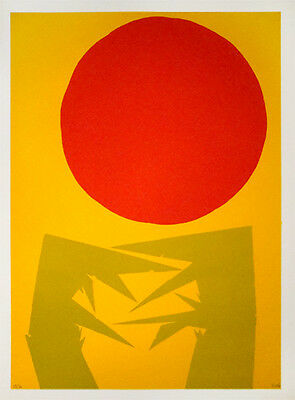 LUIS FEITO - Screen print on paper signed & numbered | Spanish abstract art