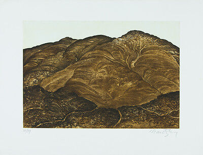 NORMAN NAROTZKY - Montañas de... - Etching signed & numbered | Contemporary art