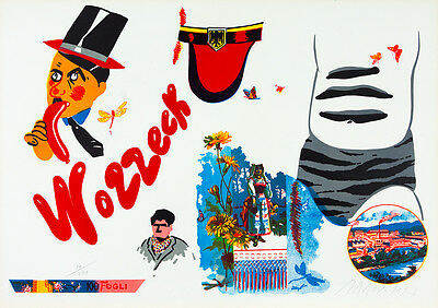 EDUARDO ARROYO Lithograph signed & numbered | Pop Art, surrealism, contemporary