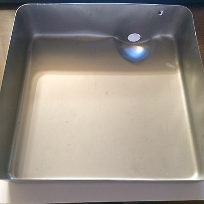 Bloomfield-Wells 8543-29/2D-70226 Basin Pan, Pour Over FREE SHIPPING NEW