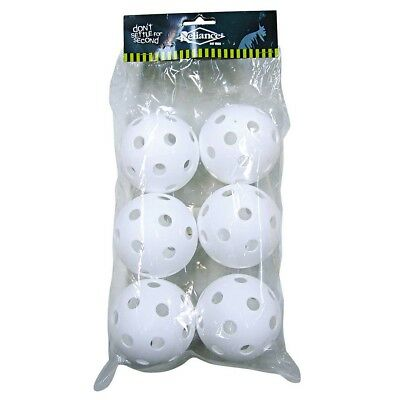 NEW Reliance Whiffle Balls 6 Pack   from Rebel Sport