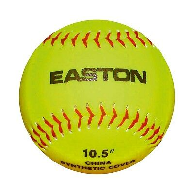 "NEW Easton 10.5"" STB Neon Soft Training Softball Ball   from Rebel Sport"