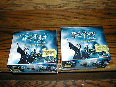 TWO Artbox HARRY POTTER And The PRISONER OF AZKABAN FILMCARDZ Trading Card Boxes