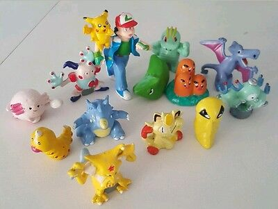 POKÉDEX 101 to 200 POKEMON GO 2-3CM TOY FIGURES // CAKE TOPPERS CHOOSE YOURS