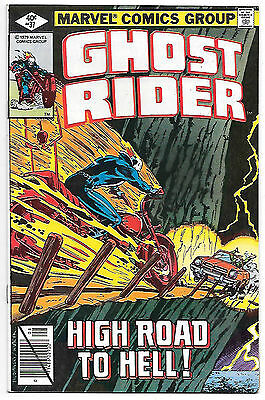 Ghost Rider #37 (Marvel 1979; vf/nm) Guide value $8.00 (£6.00)