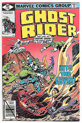 Ghost Rider #39 (Marvel 1979; vf/nm) Guide value $8.00 (£6.00)