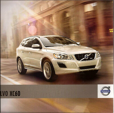 2011 11 Volvo XC60 original sales brochure Mint