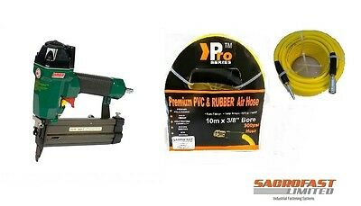 Omer 12.50 18 Gauge Brad Air Nailer With 10M Air Hose