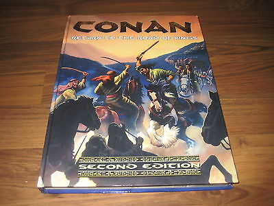 CONAN 2nd Edition Return to the Road of Kings Sourcebook Hardcover 2007 MGP 7802