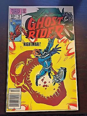 Ghost Rider (1973 1st Series) #78 8.5 VF+ Very Fine+ Marvel Comics Newsstand