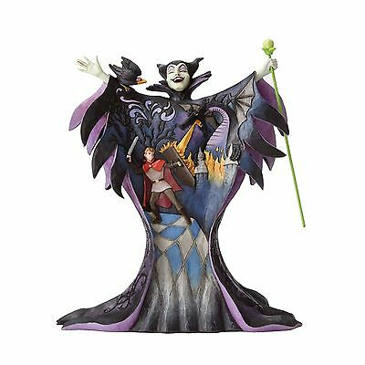 Malevolent Madness - Maleficent with Scene Figurine by Jim Shore - 4055439 -NIB!