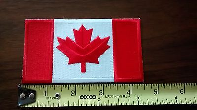 "Canada Flag Patch 4.5"" x 2.5"""