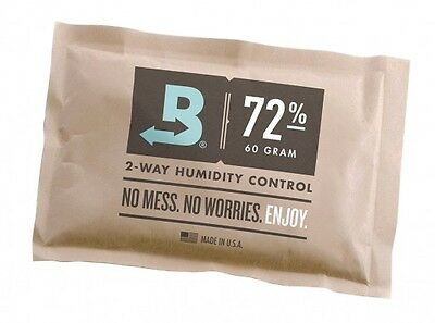 Boveda 72% RH 2-way Humidity Control, Large 60 gram, individually wrapped (60g)