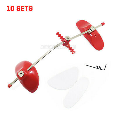 10×Adjustable Orthodontic Face Mask Reverse Pull Headgear Red/ Facial Mascara